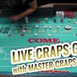 LIVE CRAPS GAME with Master Craps Dealer Lisa Las Vegas | Casino Craps Let's Play #1
