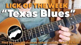 Texas Blues Guitar Lesson – Dream Licks Made Easy