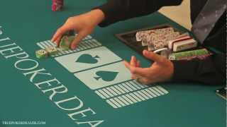 How to Deal Poker – How to Cut Chips