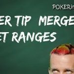 Poker Tips – Merged 4 Bet Ranges