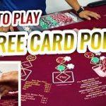 Three Card Poker Tutorial – Live Three Card Poker | Casino Three Card Poker Let's Play #1
