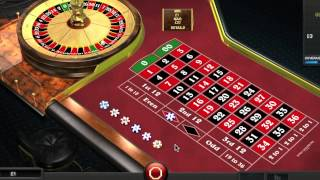 Martingale Betting System in Roulette