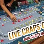 LIVE CRAPS GAME with Master Craps Dealer Lisa | Casino Craps Let's Play #4