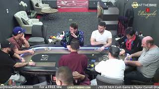 Action $5/10/20 NLH Cash Game!  – Live at the Bike!