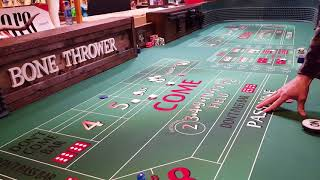 Dice control, winning at craps 4/2 2/4 set