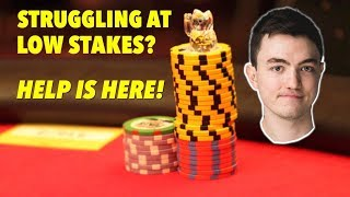 Run It Once Training: LOW STAKES POKER STRATEGY from a MASTER