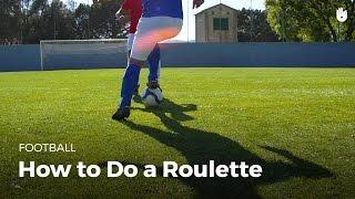Soccer Skills: The Roulette Turn   Football