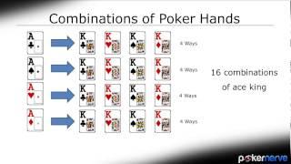 Poker Hand Combinatorics (Poker Combos) | PokerNerve.com