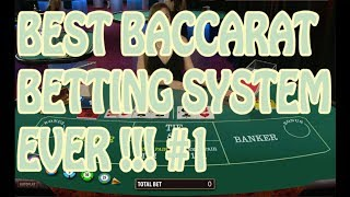 Best baccarat betting system 2017/2018 ! working baccarat system works 90% !