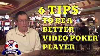 Six Tips to be a Smarter Video Poker Player – Part 1 – with Gambling Author Henry Tamburin