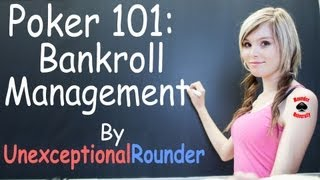 Poker Bankroll Management Lesson – Texas Holdem Poker Strategy – Online Hold em Poker
