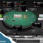 Facing a raise after donk betting on the flop | Zoom Poker Strategy Video with coach Asimos