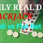 Daily Real Deal: Blackjack 6-decks Paroli vs Flat Bet #2