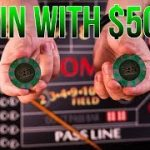 How to Win at Craps with only $50 – craps betting strategy