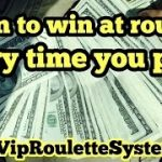 Learn to win at roulette. VIP Roulette System