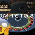 From 1€ to 838€ at NetEnt AUTO ROULETTE, w LOG STRATEGY