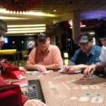 Las Vegas mini baccarat action at Rio casino