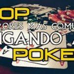 TOP errores más comunes jugando al Poker | Estrategia Poker #1