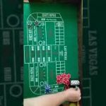 Craps strategy using only the 1/1 and 6/6