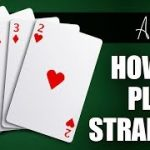 How to Play a Straight in NL Hold'em Cash Game