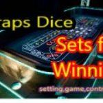 Craps  Dice Sets game control