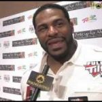 2010 WSOP Ante Up For Africa: Jerome Bettis