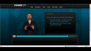 Daniel Negreanu Poker Tips 23 of 25 – When to be Aggressive in a Tournament
