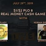 $1/$2 PLO8 with BotLady & Keiran
