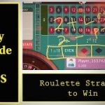 Only Outside BETS Roulette winning strategy