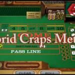 ETABLES ONLY!! LIVE ROLL on Craps with $100 dollars. Hybrid Method of Tier Point /any but 7 strategy