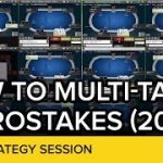 How To Multi-Table Microstakes 20NL | Online Poker Strategy