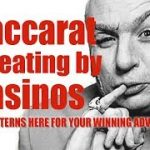 Baccarat cheating by Casinos – 8 different ways how players get cheated in this game!