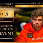 Triton London 2019 – Triton London NLH Main Event £100K – Day 2
