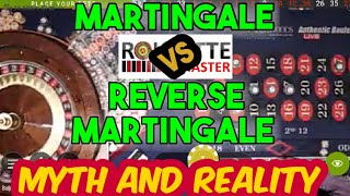 Martingale Vs Reverse Martingale Roulette Strategy with Modifications