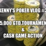 Poker Vlog Ep 3 – We Play in $5,000 GTD Live Poker Tournament and Cash!!!