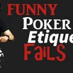 Live Poker Etiquette Guide – Live Poker Etiquette fails! Detroit Poker #45