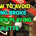 How to Avoid Going Broke When Playing Roulette