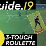 FIFA 19 SKILLS TUTORIAL | THREE TOUCH ROULETTE | New skill move to BEAT the DEFENDER! | THE GUIDE