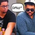 """Hashtag King, """"the biggest jerk in poker"""" gets WRECKED for $20,000 ♠ Live at the Bike!"""