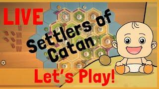Neonate Plays Catan Live!