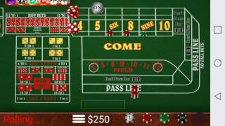 THE ONLY STRATEGY YOU NEED FOR CRAPS
