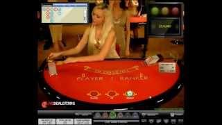 Live dealer Diana   VIP limits live baccarat