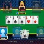 cara main texas holdem poker online