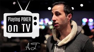 Poker tips: What It's Like to Play Poker on TV? [Ask Alec]