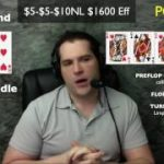 Poker Strategy: Suited Connector in Straddle $5-$10NL