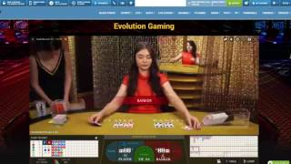 Baccarat Online – Winning Strategies –  QUICK 40$ LIVE – Session #3