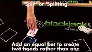 How To Split Cards When Playing Blackjack