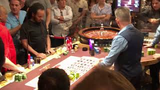 2 High Rollers Playing Roulette at Bellagio Casino