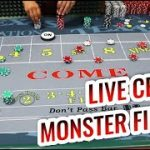 MORE MONSTER FIELD – Live Craps with Master Craps Dealer Lisa   Casino Craps Let's Play #6