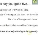 "Odds of winning at ""Craps"" (calculation)"